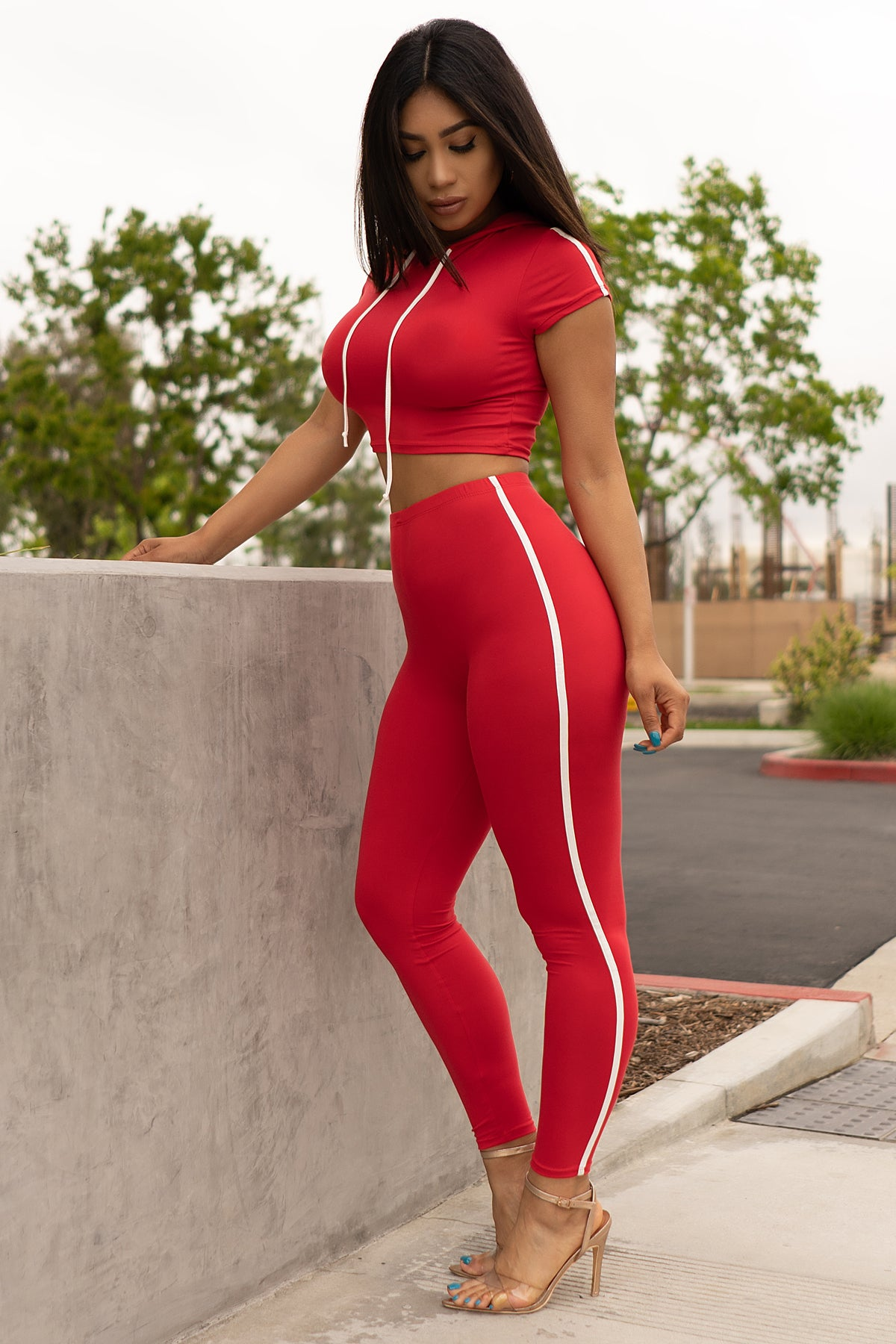 Audrey Set - Red