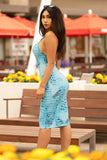 Exclusively Yours Dress - Snake Print