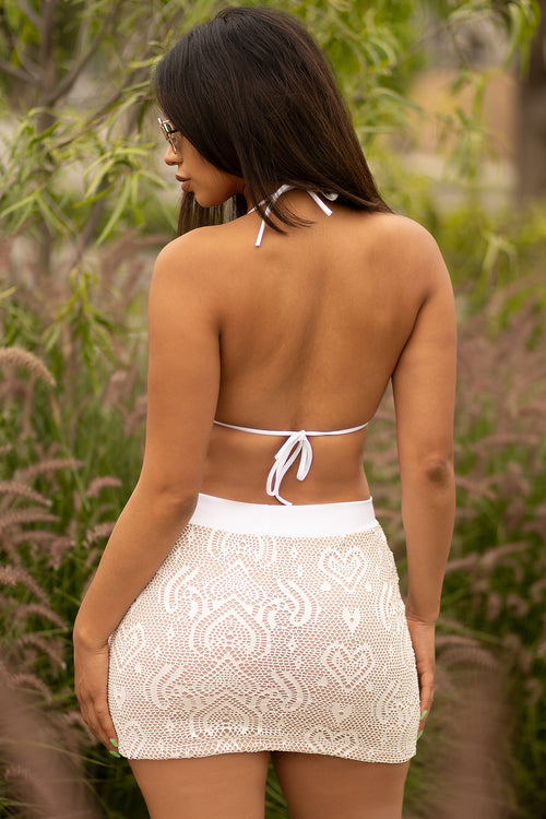 Sienna Two Piece Set - White