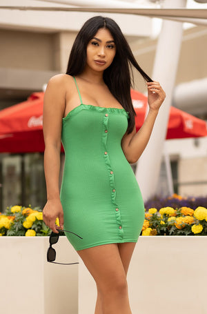 Better Than Yours Dress - Green