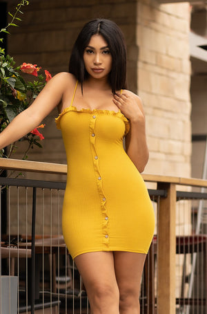 Better Than Yours Dress - Yellow