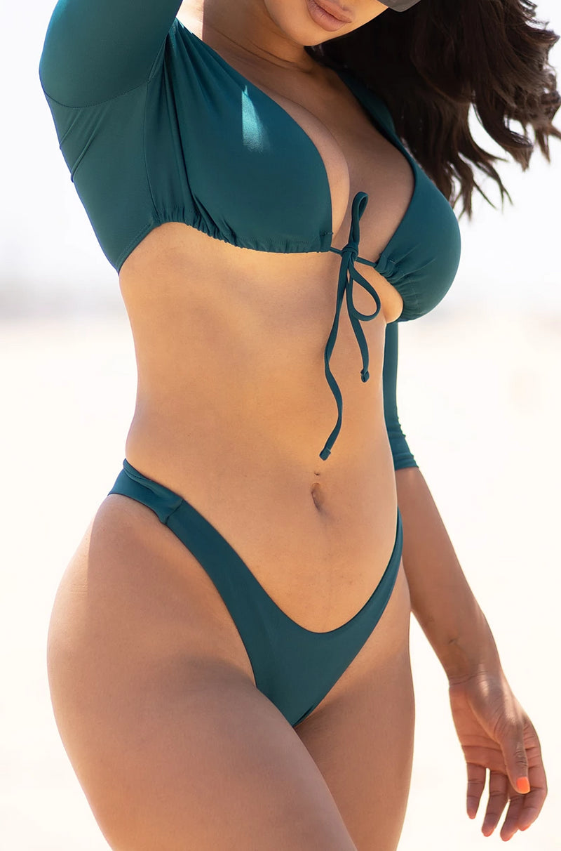 Punta Cana Two Piece Swimsuit Teal
