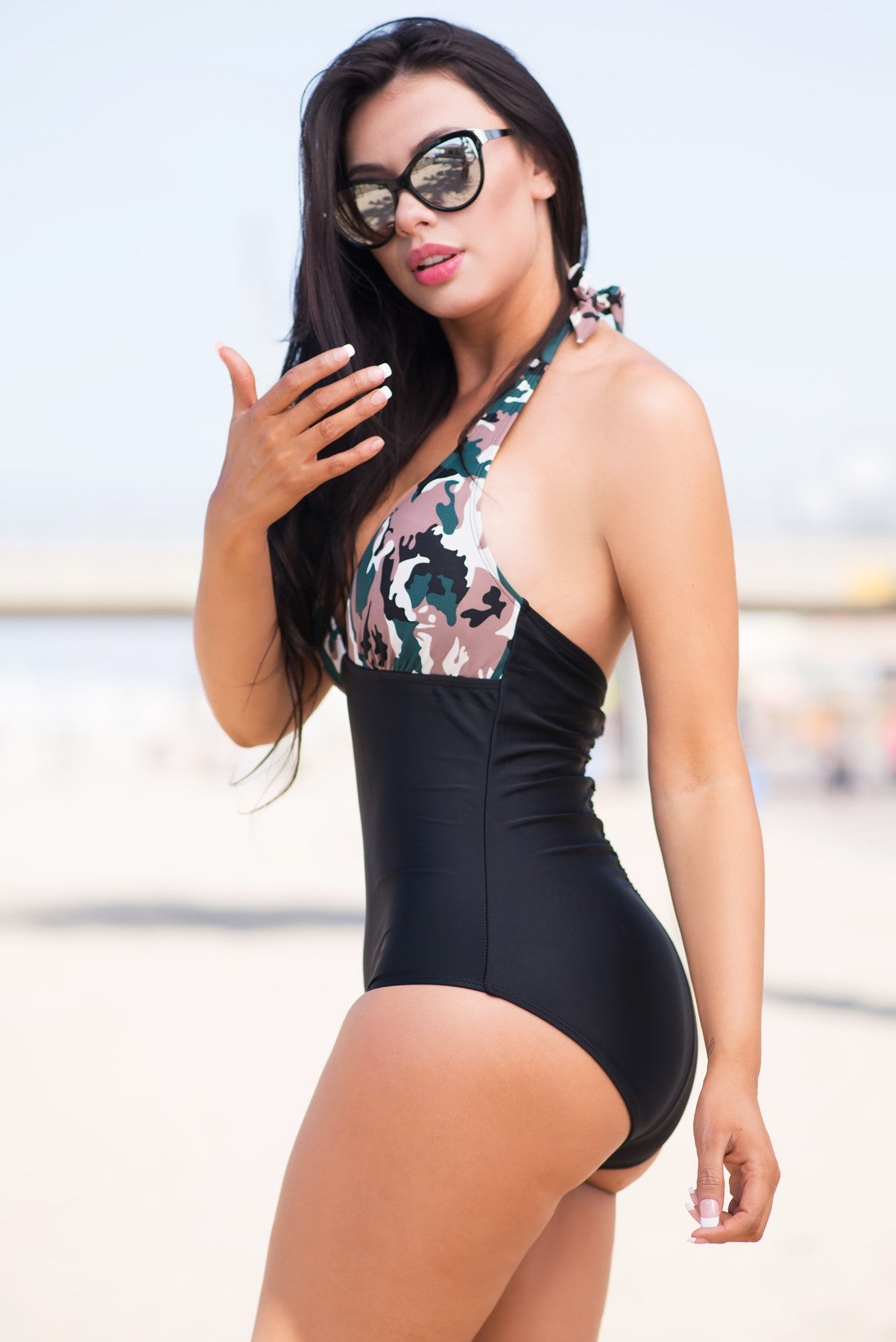 Nissa Beach One Piece Swimsuit