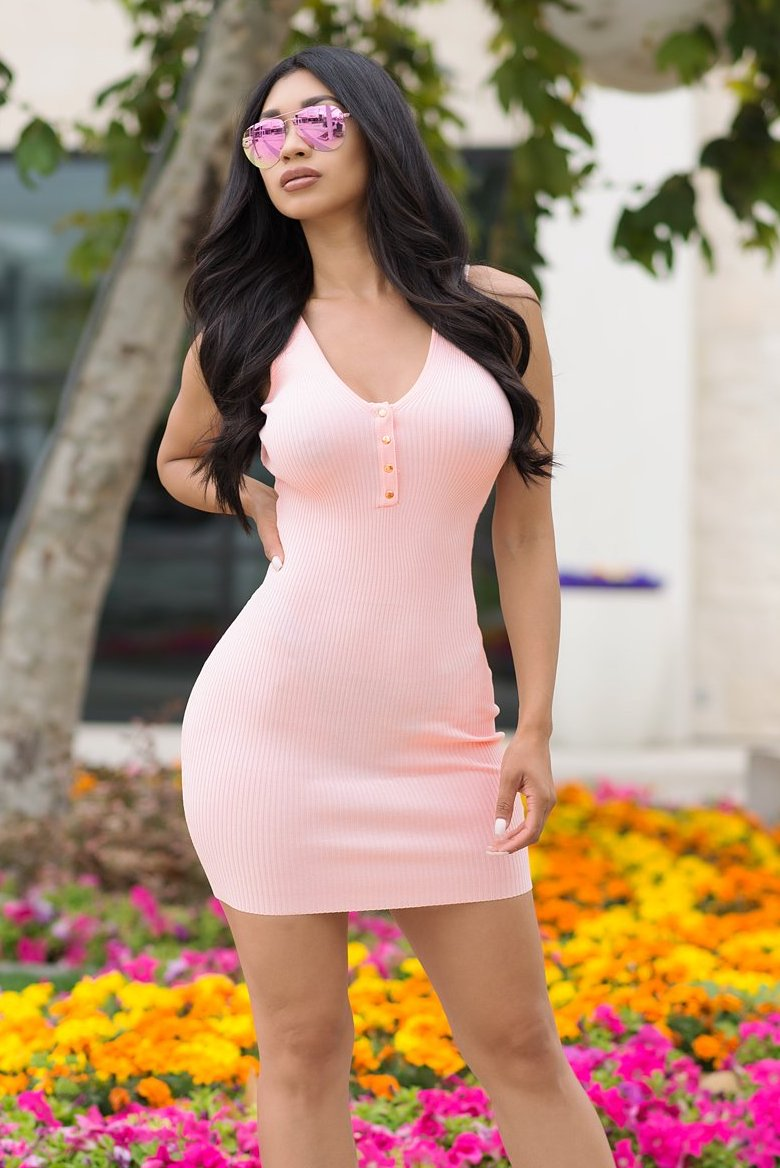 Penny Dress - Light Pink