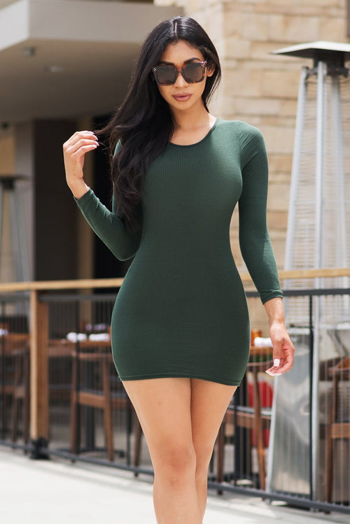 Jadelyn Dress  - Olive