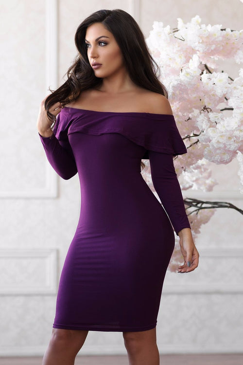 Anahi Dress - Purple