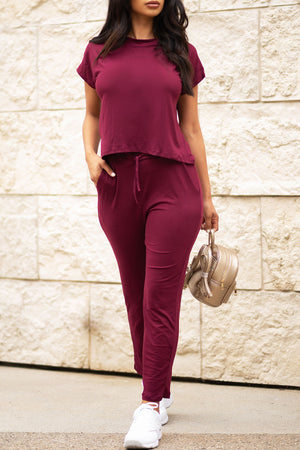 Beyond Basic Set Burgundy