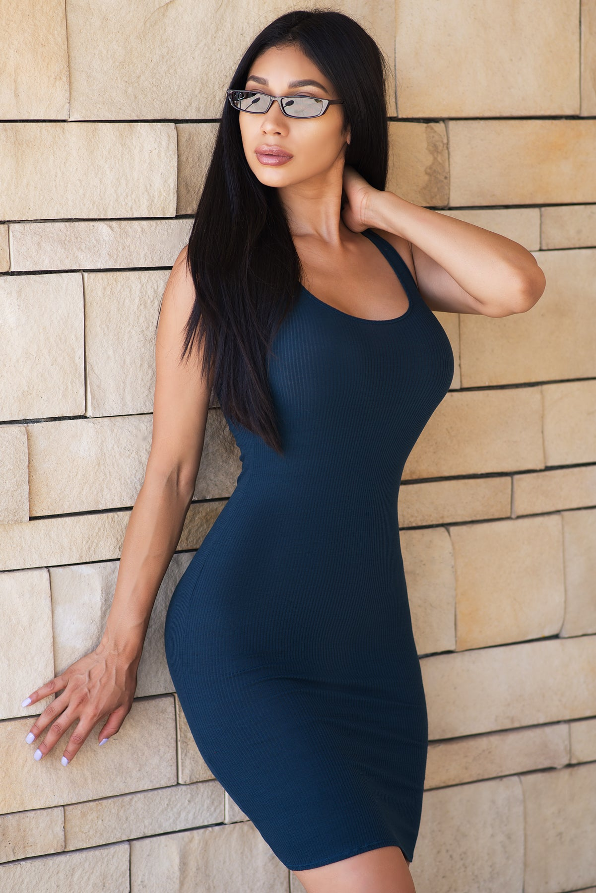 Valerie Dress - Dark Teal