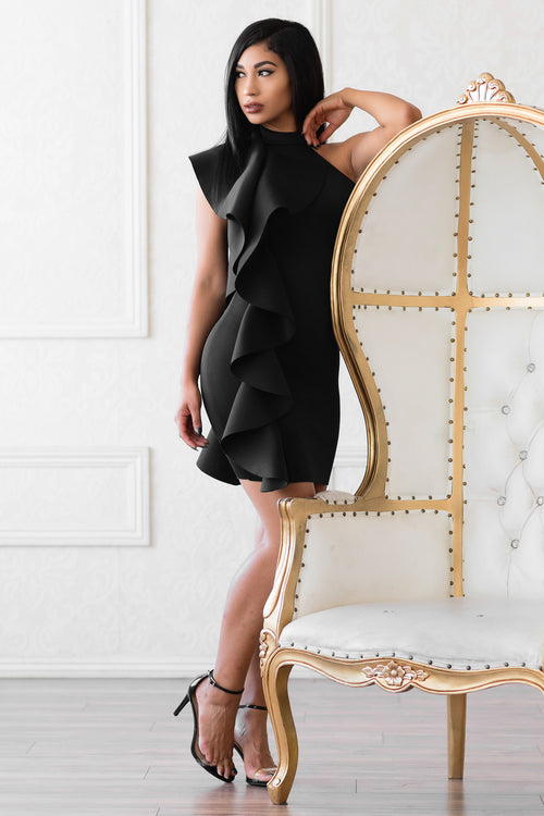Nathalie Dress - Black