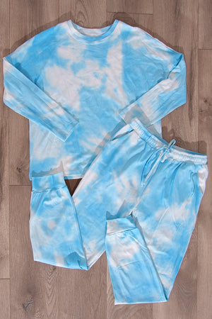 Alex Set Tie Dye Blue