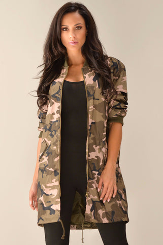 RESTOCK Holly Camo Jacket - Fashion Effect Store  - 1
