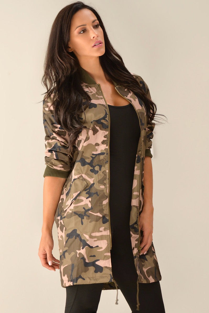 RESTOCK Holly Camo Jacket - Fashion Effect Store  - 2
