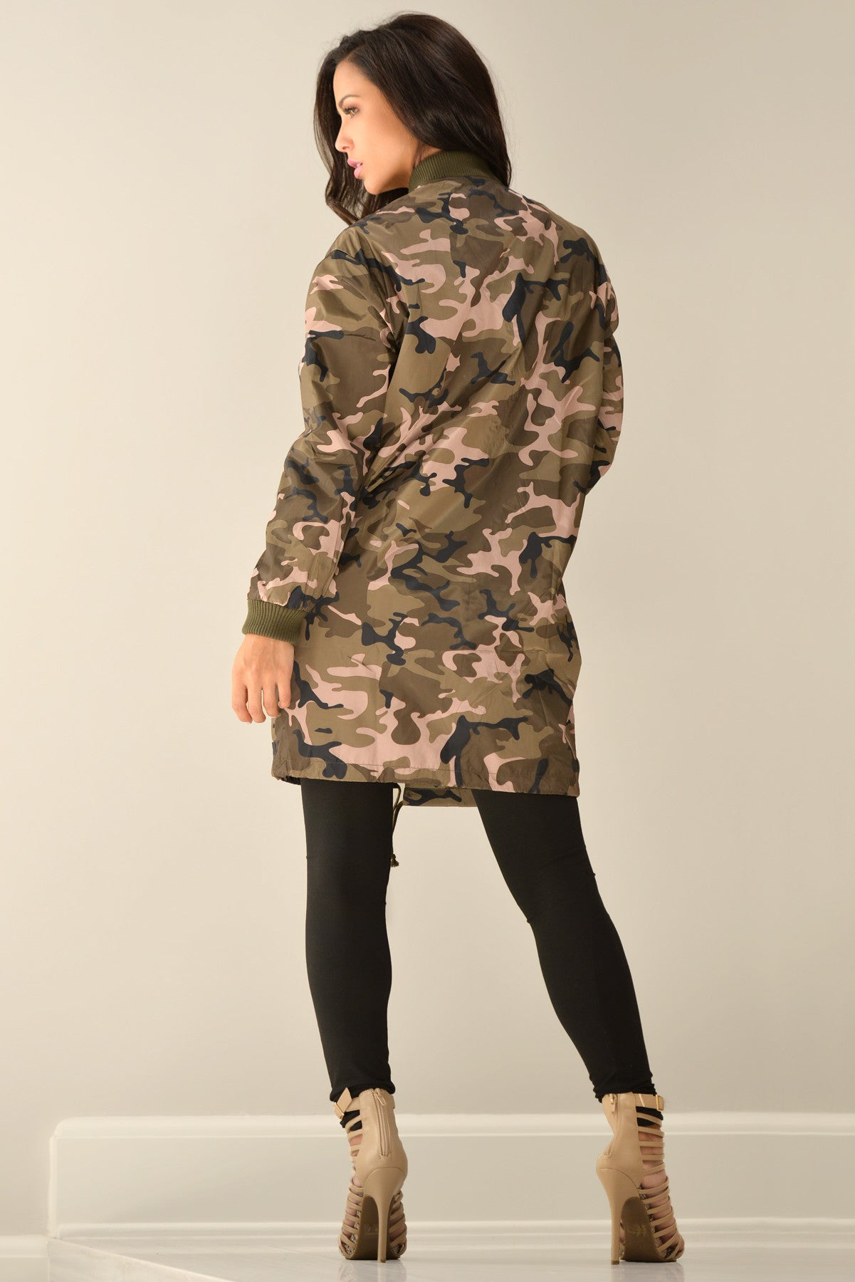 RESTOCK Holly Camo Jacket - Fashion Effect Store  - 3