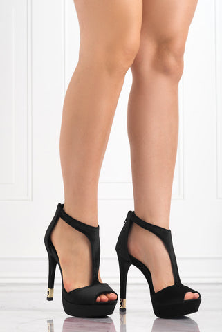 Appearance Black Heels - Fashion Effect Store  - 1
