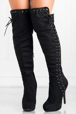 Ground Breaking Lace up Boots - Fashion Effect Store  - 1