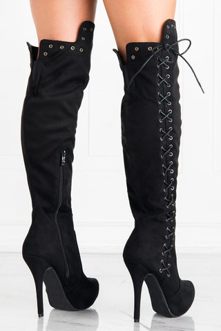Ground Breaking Lace up Boots - Fashion Effect Store  - 2