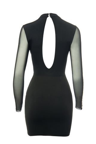 Grace Black Dress - Fashion Effect Store  - 2