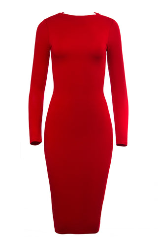 Feeling The Best Red Dress - Fashion Effect Store