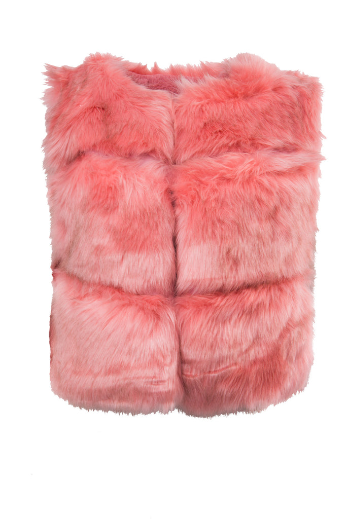 Vivian Faux Vest Pink - Fashion Effect Store  - 4