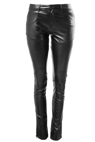 Kourt Faux Leather Pants - Fashion Effect Store