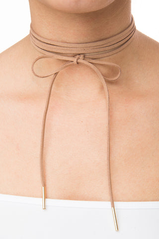 Emily Nude Choker - Fashion Effect Store