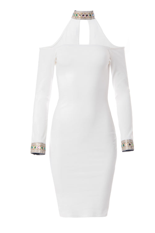 Valentina White Dress - Fashion Effect Store  - 1