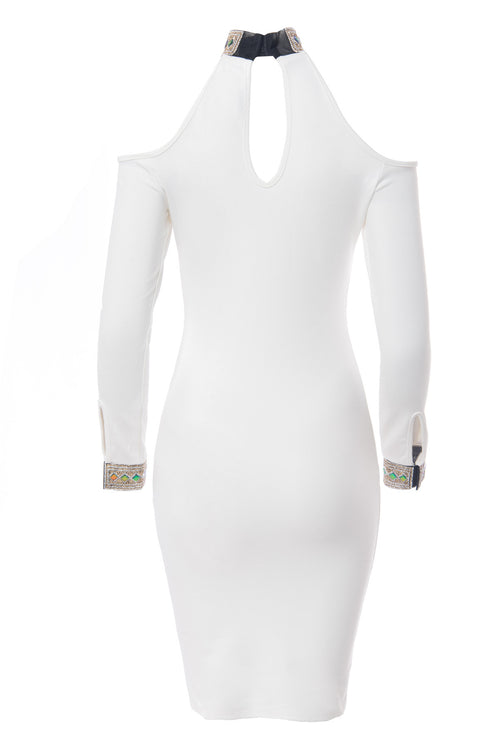 Valentina White Dress - Fashion Effect Store  - 2