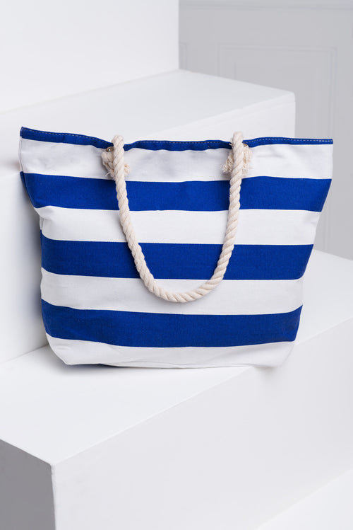 Beach Life Canvas Tote