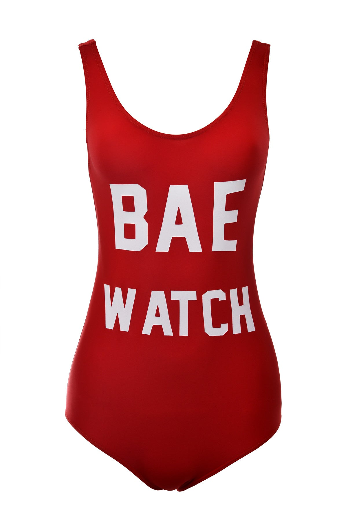 Bae Watch Red One Piece - Fashion Effect Store  - 1