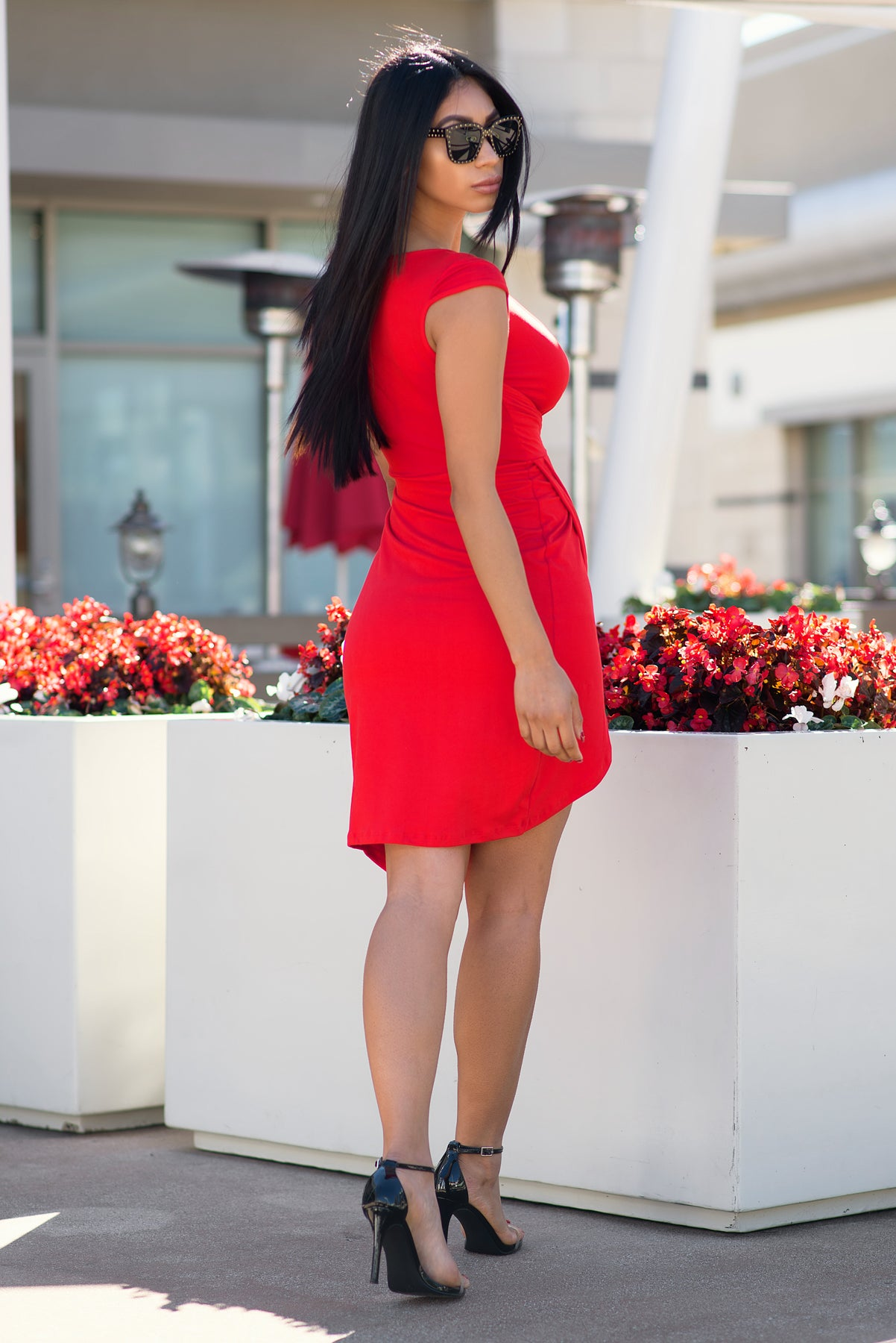 Lauren Dress - Red
