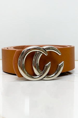 Stuck On You Waist Belt- Brown