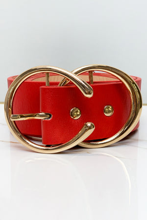 Stuck on You Waist Belt - Red