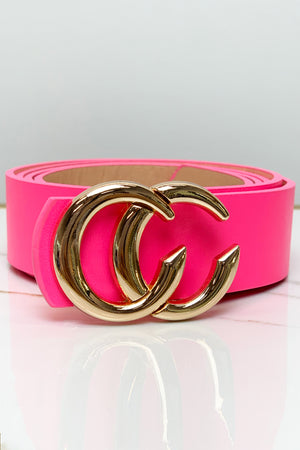 Stuck on You Waist Belt - Pink