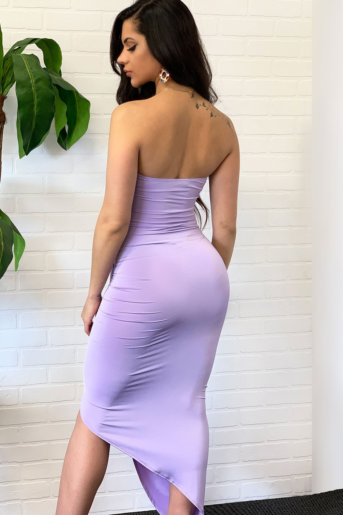 Andrea Dress - Lavender