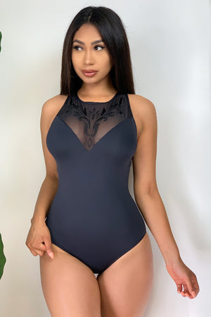 Point Loma One Piece Swimsuit Black