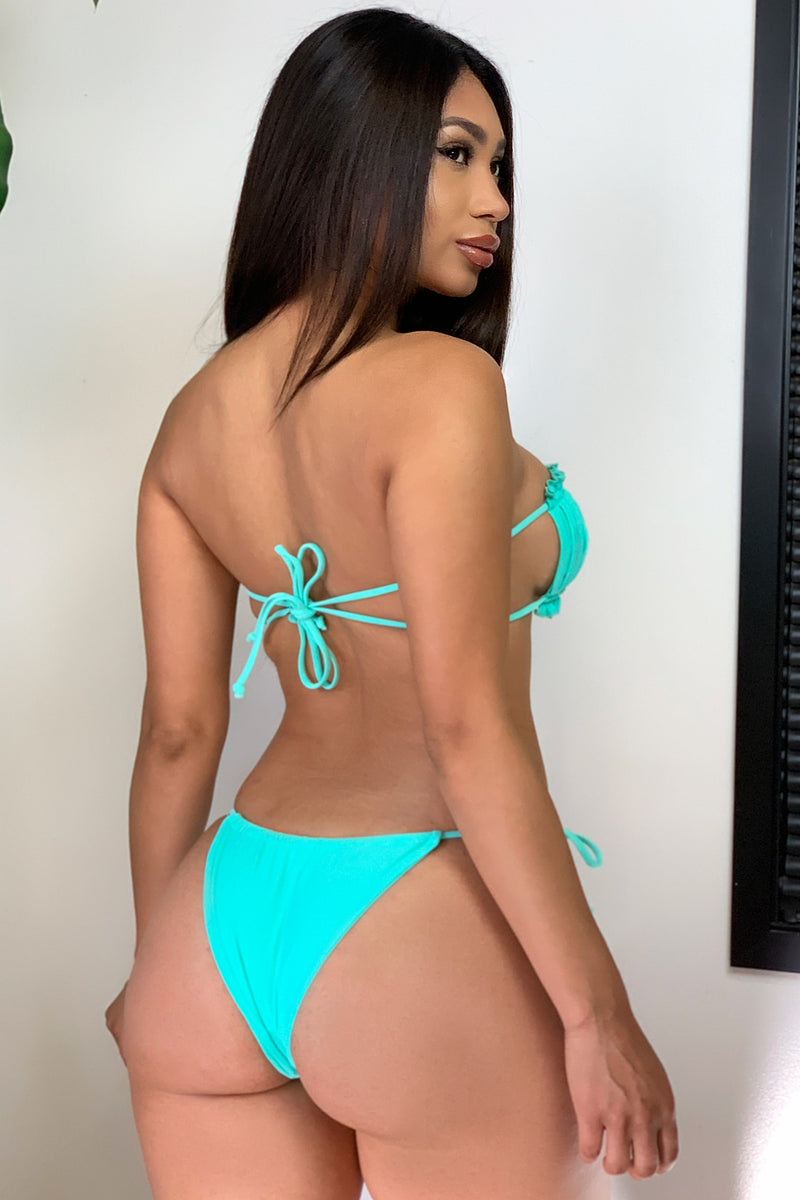 Zanzibar Two Piece Swimsuit Mint