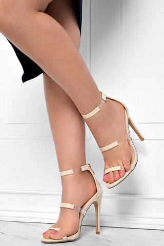 Keep It Real Nude Heels - Fashion Effect Store  - 1