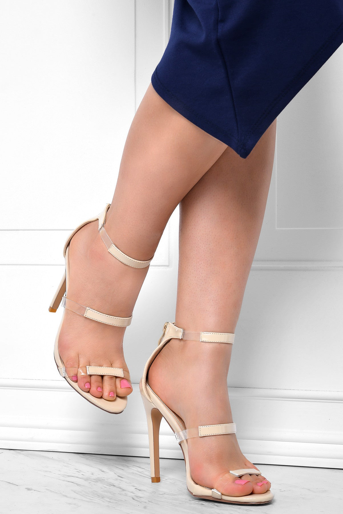 Keep It Real Nude Heels - Fashion Effect Store  - 2