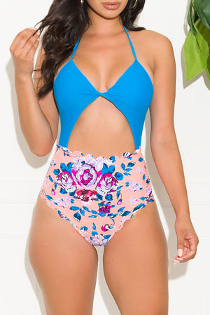 Relaxing Coastline One Piece Swimsuit