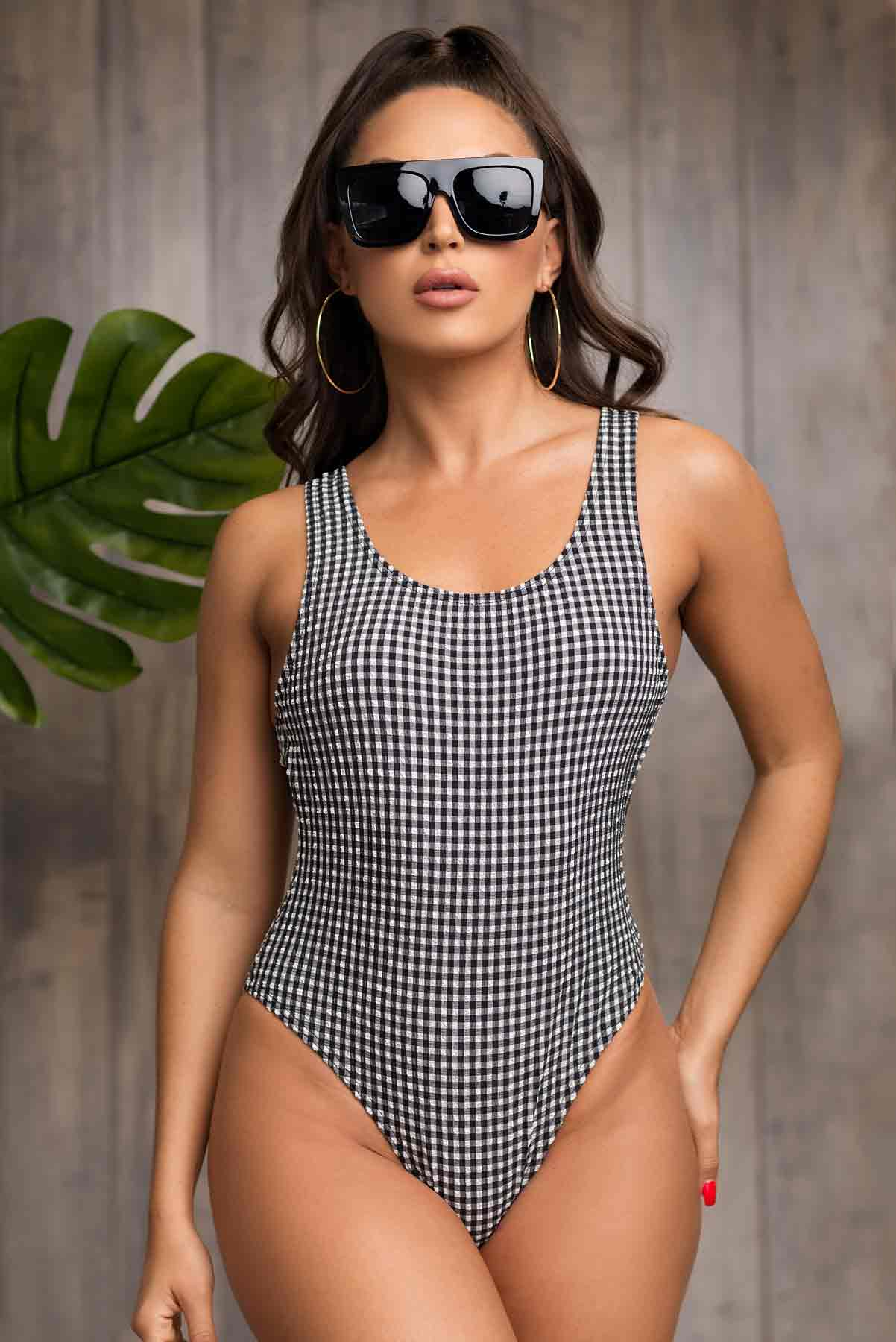 Half Moon Bay One Piece Swimsuit