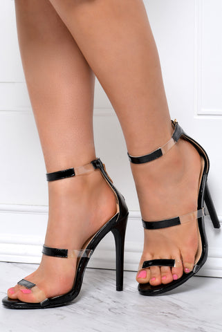 Keep It Real Black Heels - Fashion Effect Store