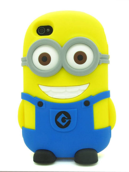 Minion Case (3-D) Galaxy S4 / Iphone 4 - Fashion Effect Store