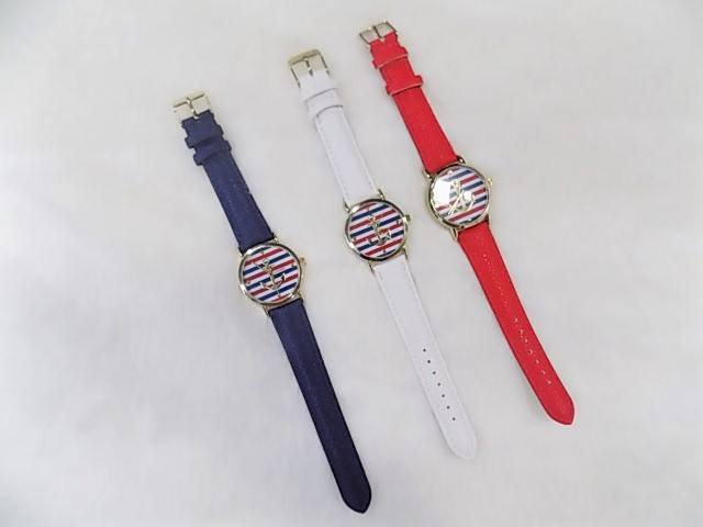 Red White & Blue Anchor Watch - Fashion Effect Store  - 1