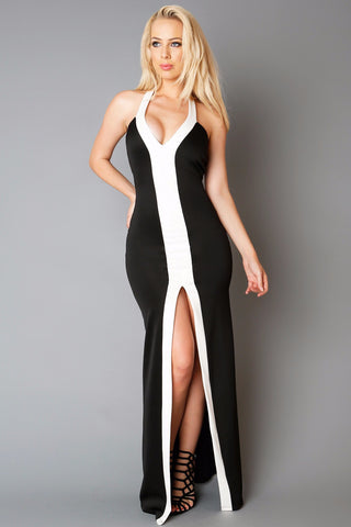 Black and White Affair Dress - Fashion Effect Store  - 1