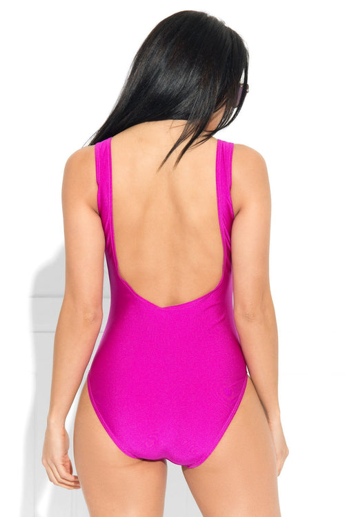 Blessed Purple One Piece Swimsuit