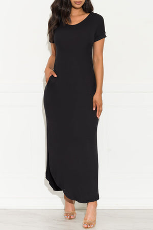 Always Wanted Maxi Dress Black