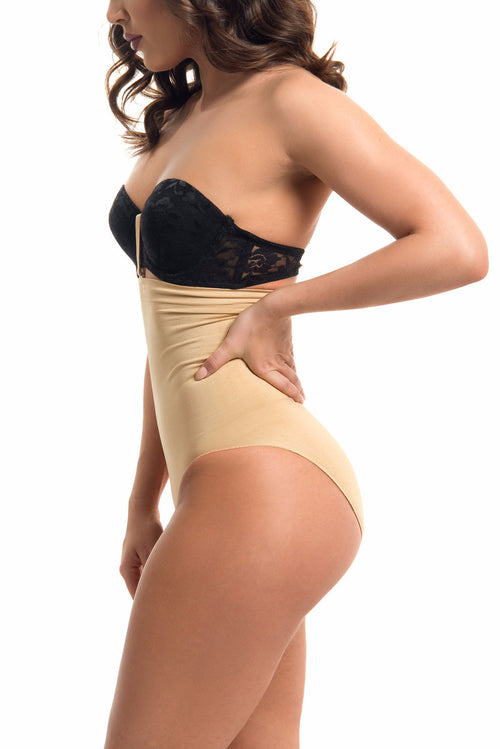 Seamless High Waisted Body Shaper NUDE - RESTOCKED - Fashion Effect Store  - 1