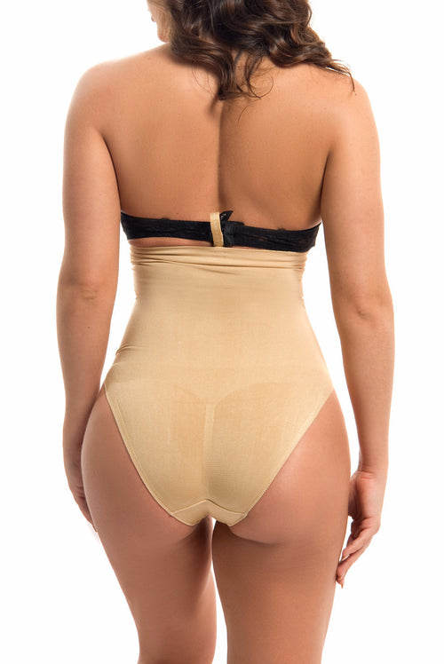 Seamless High Waisted Body Shaper NUDE - RESTOCKED - Fashion Effect Store  - 2