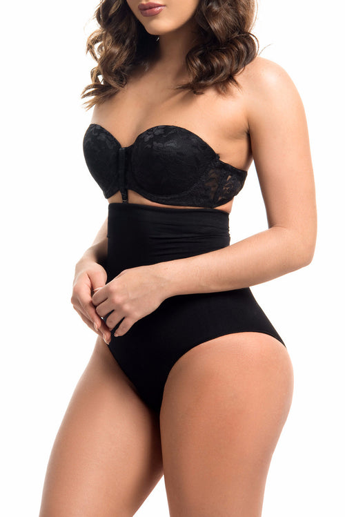 Seamless High Waisted Body Shaper BLACK -RESTOCKED - Fashion Effect Store  - 1