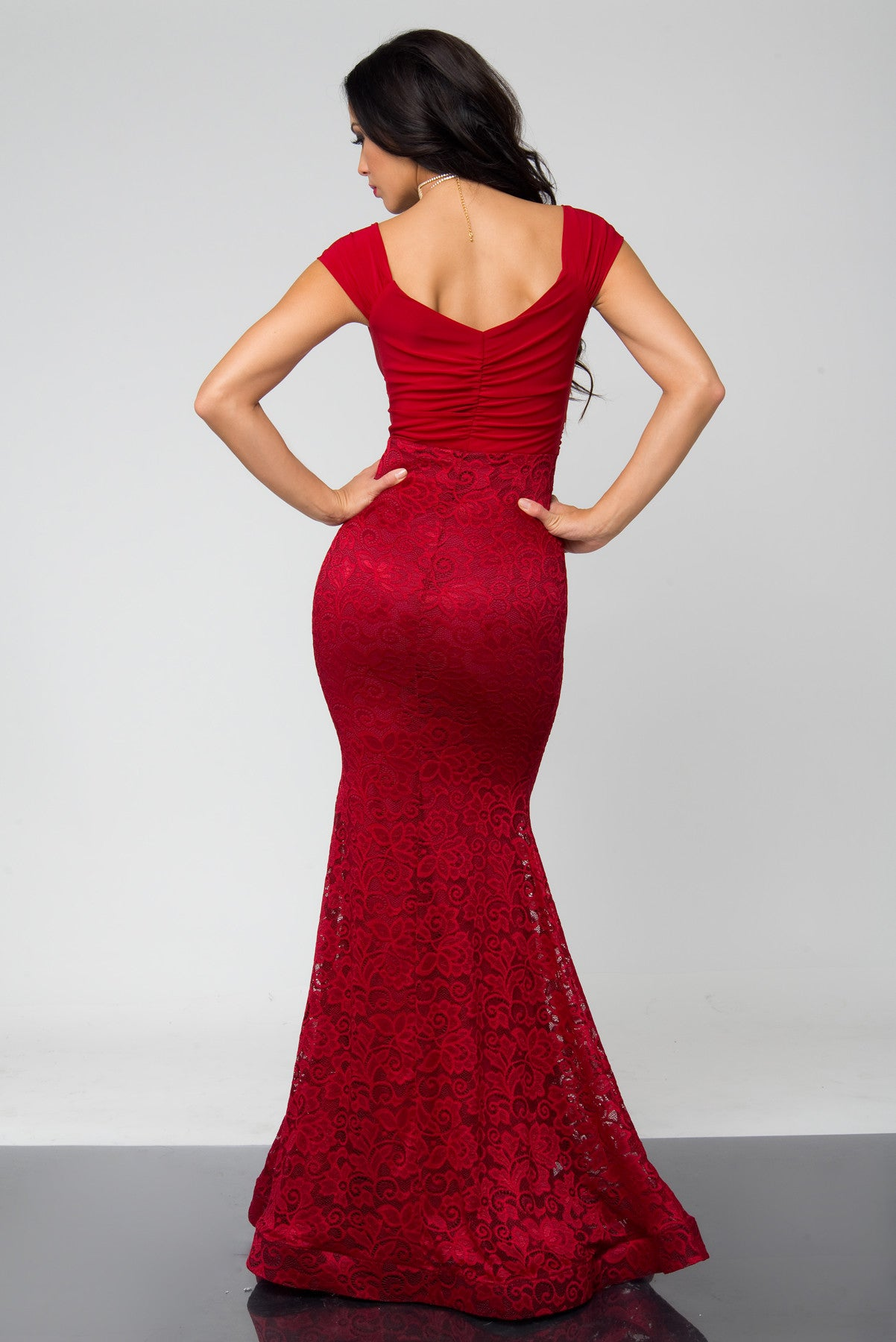 Rania Red Dress - Fashion Effect Store  - 3